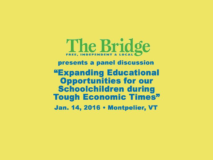 VT Education Discussion Jan 14, 2016