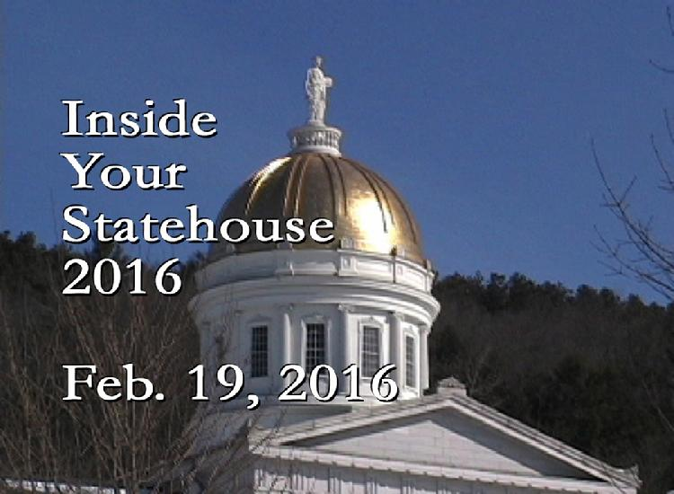 Inside Your Statehouse 2016 Feb. 19, 2016
