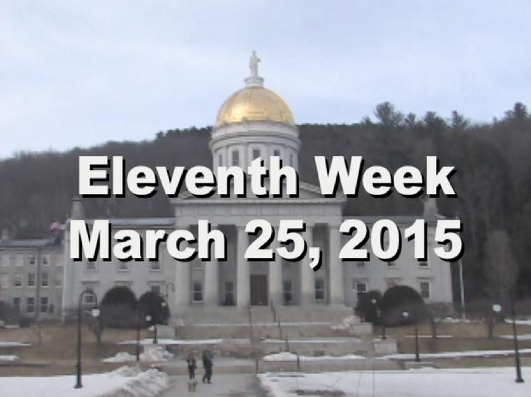 Under The Golden Dome 2015 Week 11  Eleventh week of the 2015 Vermont legislative session March 25, 2015. State House Info � Governor�s Ceremonial �Old Ironsides� Chair. Interview segments with Rep. Dave Sharpe, Rep. Bill Lippert, Rep. Diane Lanpher, Rep. Cynthia Browning, Senate President Pro Tem John Campbell, Rep. Patrick Brennan View at https://vimeopro.com/vtvt/underthegoldendome2015/video/123272776