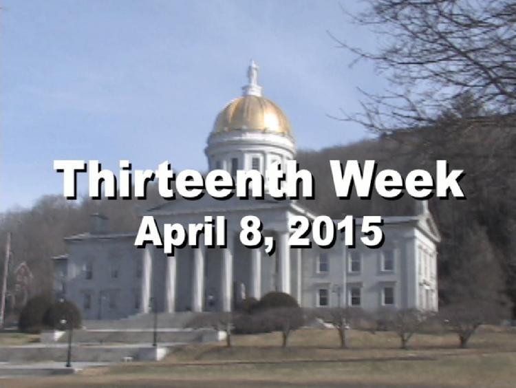 Under The Golden Dome 2015 Week 13  Thirteenth week of the 2015 Vermont legislative session April 8, 2015. State House Info � Benediction Display: The Death of Lincoln and the End of the Civil War.. Interview segments with Rep. Topper McFaun, Rep. Bill Botzow, Rep. Chip Troiano, Rep. Joan Lenes, Rep. Curt McCormack, Sen. Brian Campion, Rep. Martin LaLonde View at: https://vimeopro.com/vtvt/underthegoldendome2015/video/124590423